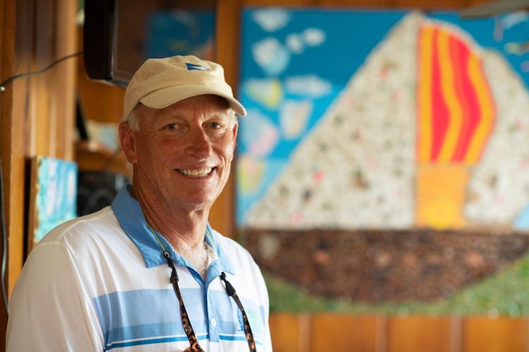 Turning Trash to Treasure: Island University Professor Creates Recycled Art