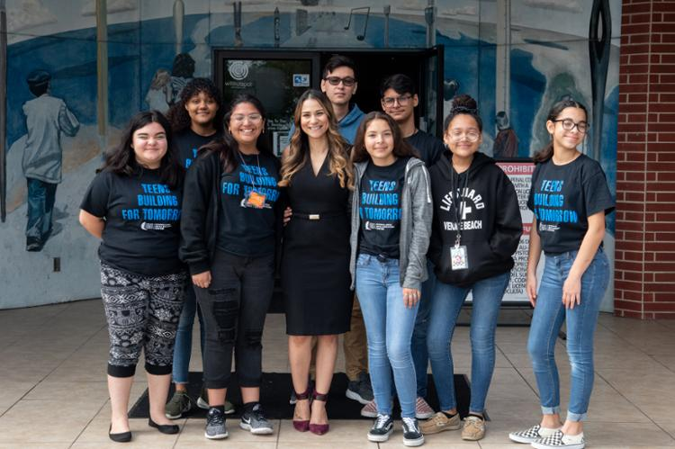 Teens Build for Tomorrow at Garcia Center Summer Program
