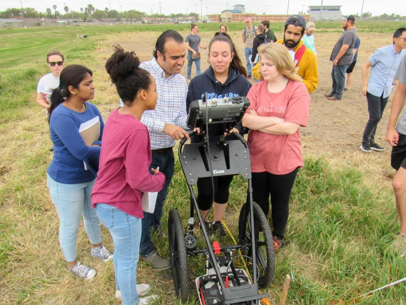Geophysical Test Site Provides New Resource to Students, Researchers at TAMU-CC