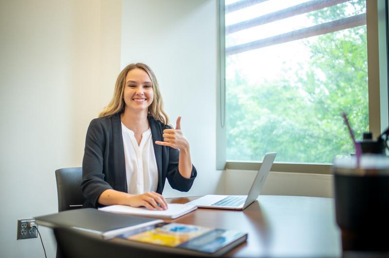 TAMU-CC Outstanding Graduate Megan Dodd Keeps Her Eye on the Goal in Soccer, Management, Finance